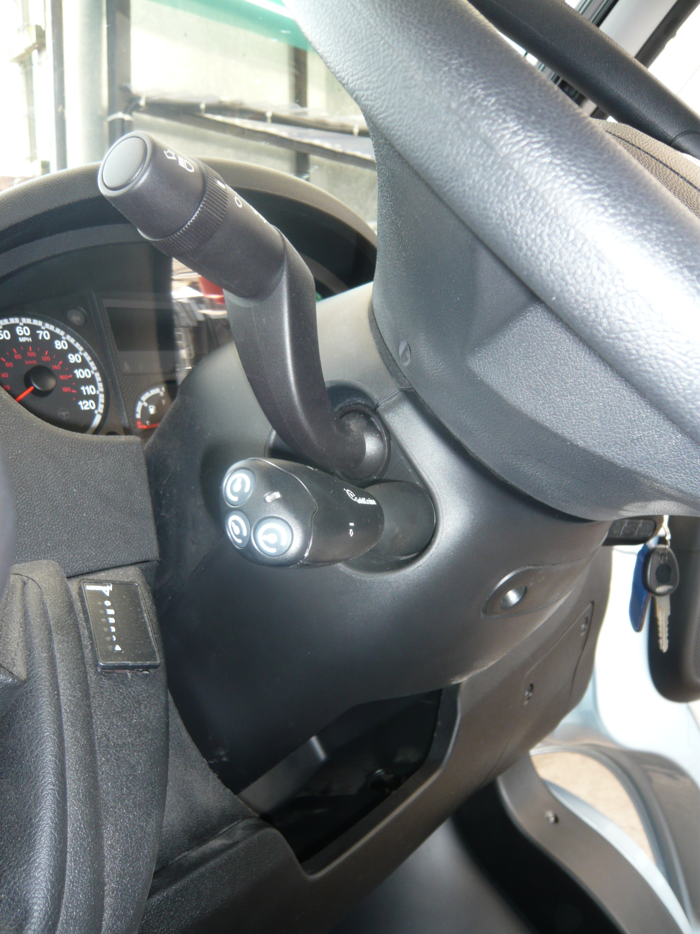 2012 Fiat Ducato Fitted With Cruise Control