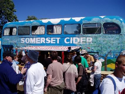 Somerset Cider bus conversion