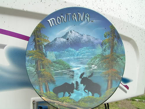 Montana Satellite dish
