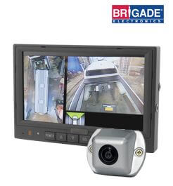 Brigade 360 System reversing camera kit for motorhomes, vans & caravan parking sensors brigade camera wiring diagram at creativeand.co