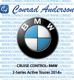 Speed Limiter - BMW 2-Series Active Tourer 2014> - Products